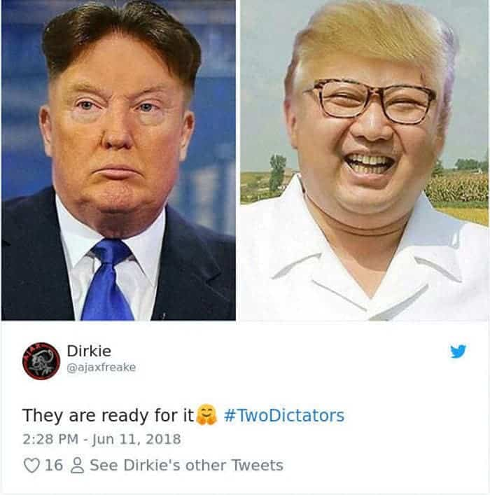 55 Hilarious Donald Trump Kim Jong Un Memes, Tweets to Make Your Day -17
