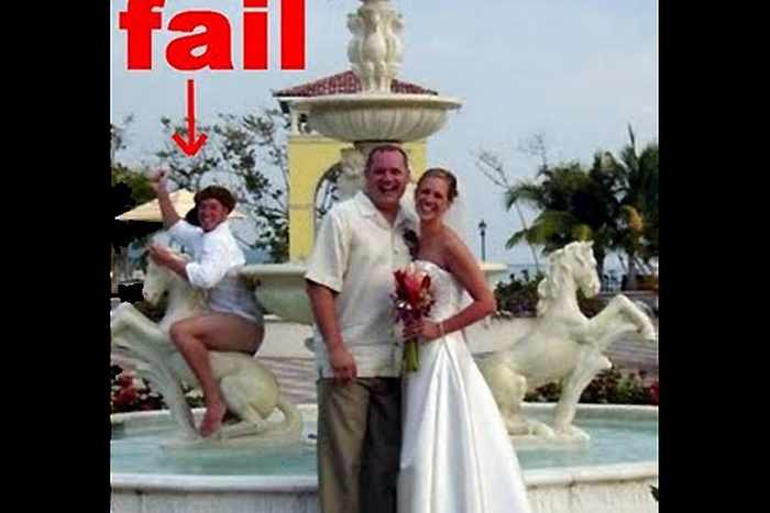 44 Funny Epic Fail Wedding Pictures That Will Make You Laugh -33