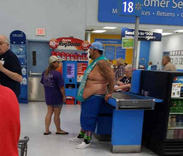 The 45 Funniest People of Walmart Photos -25