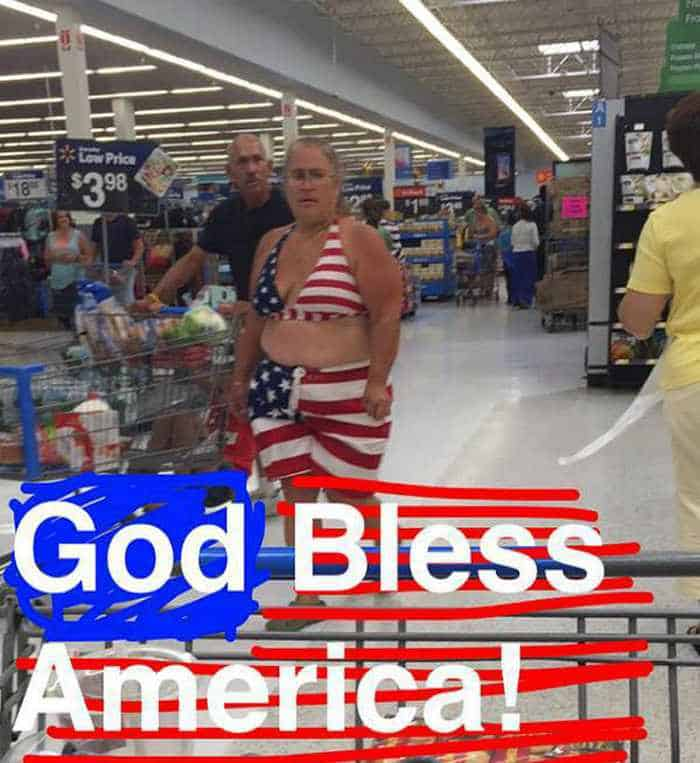 The 45 Funniest People of Walmart Photos -45