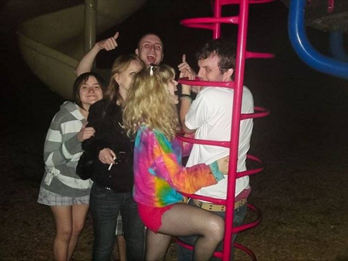 Funny Adults That Stuck At Kids Playgrounds (36 Photos)-03