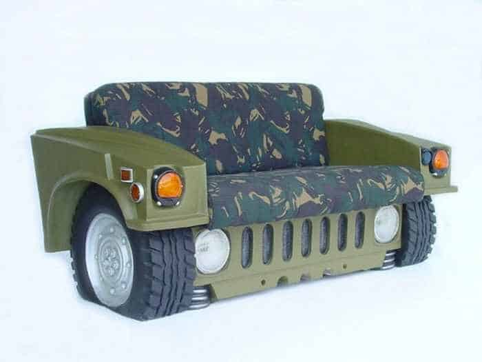 17 Funny Pictures of Furniture Made From Auto Body And Parts-05
