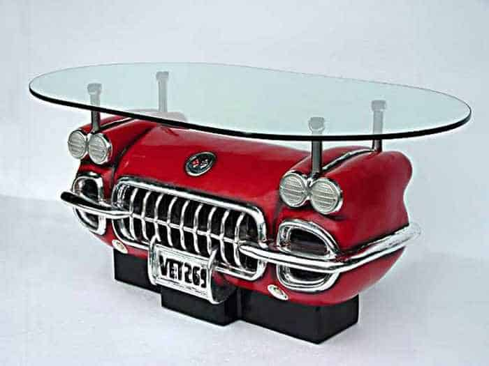 17 Funny Pictures of Furniture Made From Auto Body And Parts-10