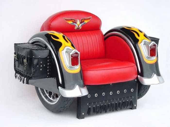 17 Funny Pictures of Furniture Made From Auto Body And Parts-13