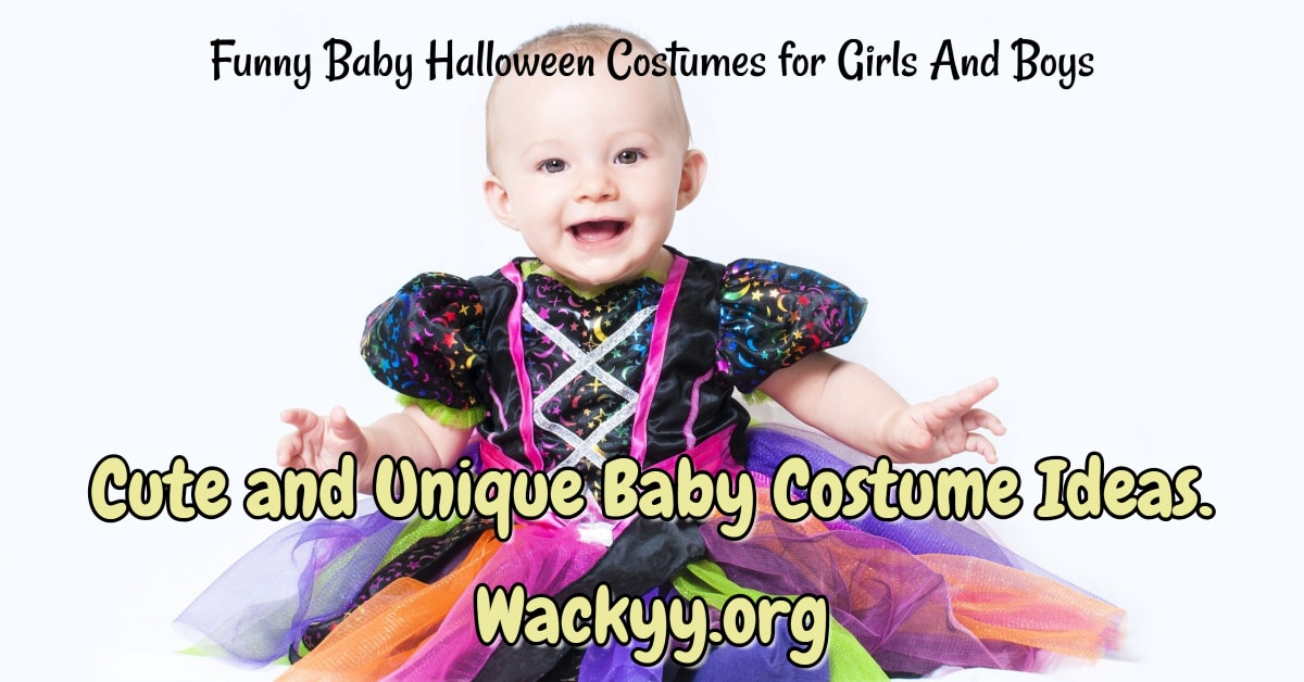 10+ Funny Baby Halloween Costumes for Girls And Boys - Cute and Unique Baby Costume Ideas