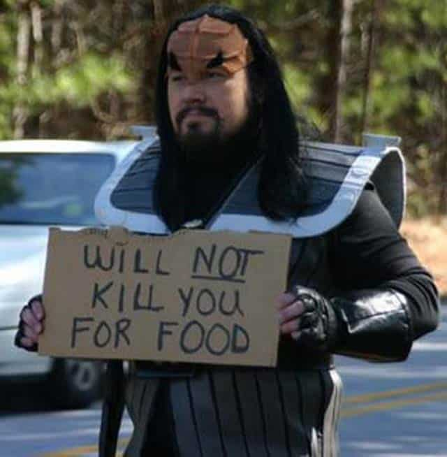 Will Not Kill You For Food - Funniest Beggar of the Day