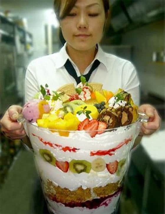Funny Biggest Ice Cream Cup Of The Day That You Like to Taste