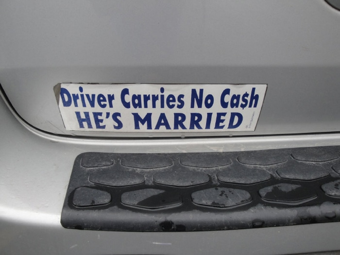 20 Bumper Stickers That Are Actually Damn Funny-03