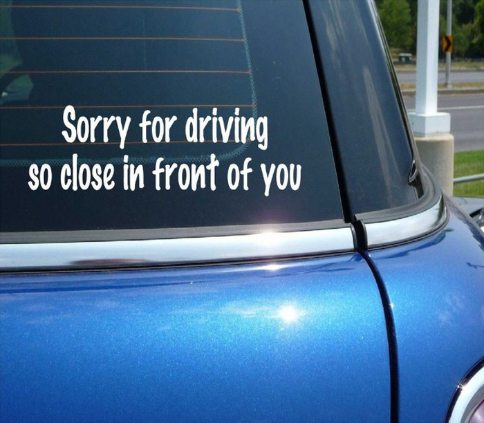 20 Bumper Stickers That Are Actually Damn Funny-09