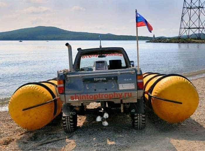 Funny Pictures - Car Or Boat - 6 Photos -03