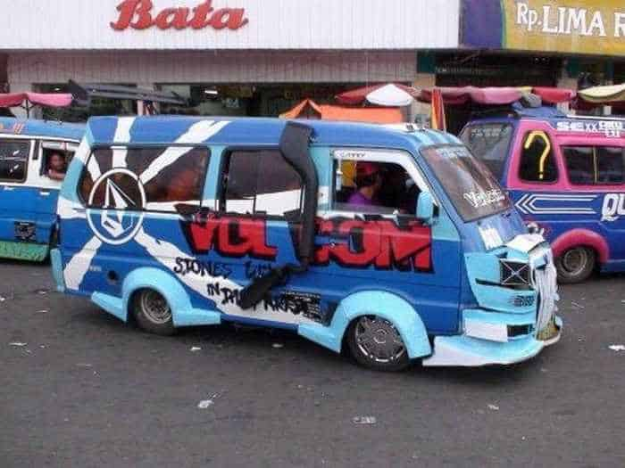 Meanwhile Creative Funny Cars In Indonesia - 16 Pics -09