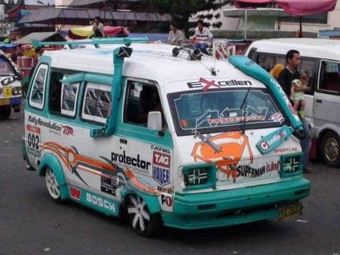 Meanwhile Creative Funny Cars In Indonesia - 16 Pics -15