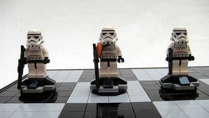Funny And Weird Chess For Lego And Star Wars Fans -01