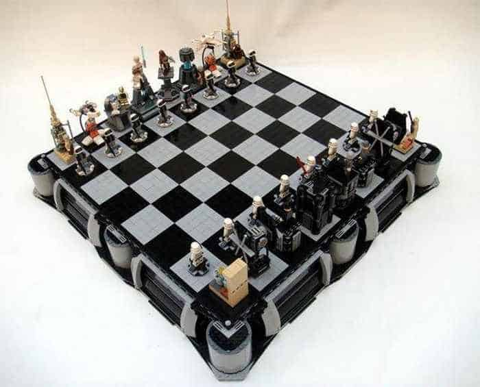 Funny And Weird Chess For Lego And Star Wars Fans -03