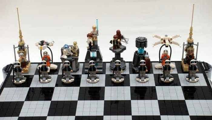 Funny And Weird Chess For Lego And Star Wars Fans -04