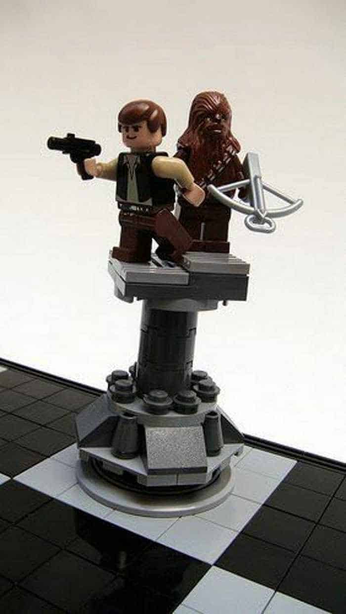 Funny And Weird Chess For Lego And Star Wars Fans -06