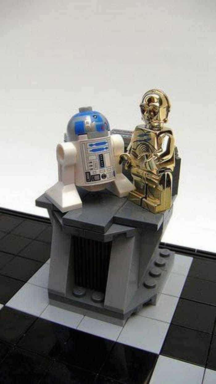 Funny And Weird Chess For Lego And Star Wars Fans -08