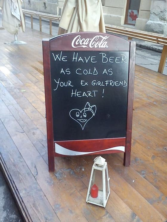 Funny Promotion On Coca Cola Board That is Hilarious