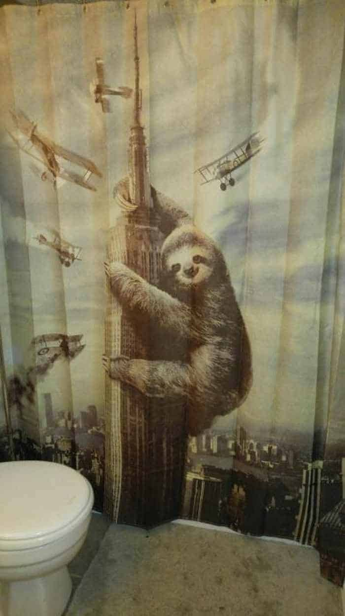 31 Funny Creative Shower Curtains That Will Make Your Day -09