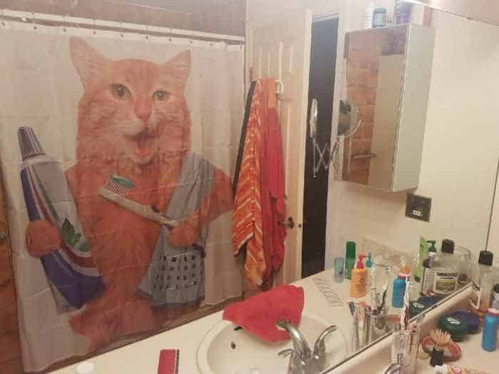 31 Funny Creative Shower Curtains That Will Make Your Day -18