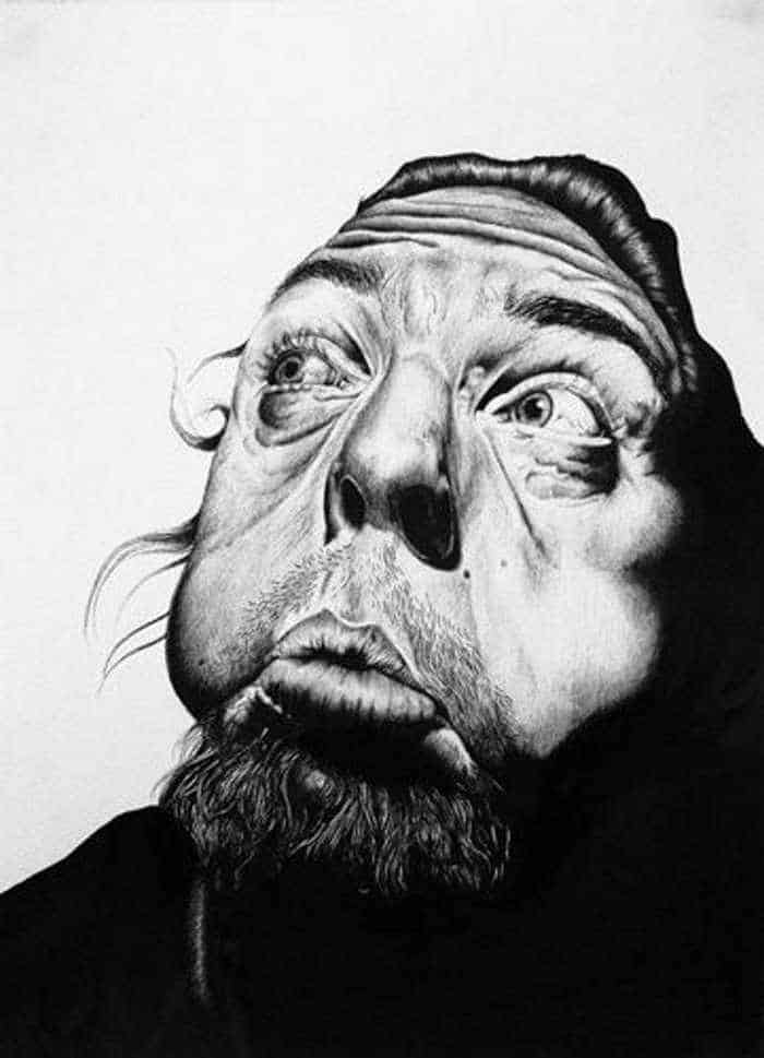 Creative Funny Drawings of Face - 5 Photos -02