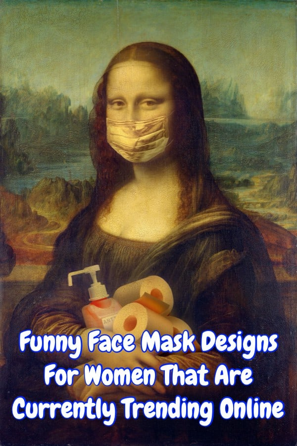 Funny Face Mask Designs For Women That You Can Buy Online