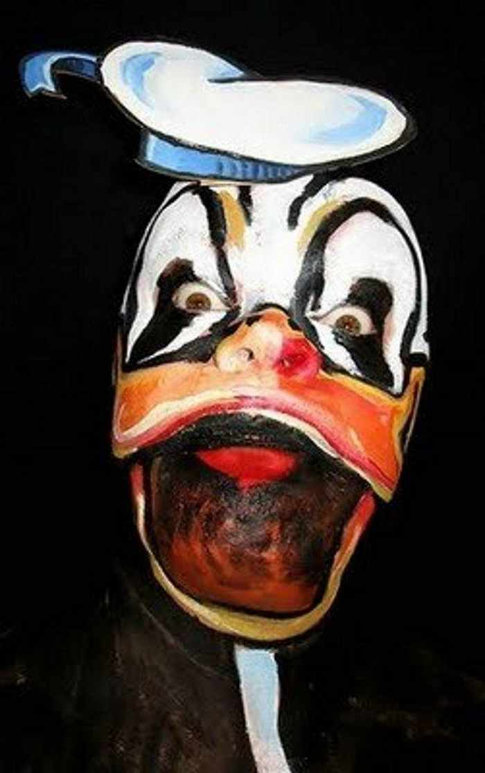 10 Mind-blowing Funny Creative Face Painting Pics -19
