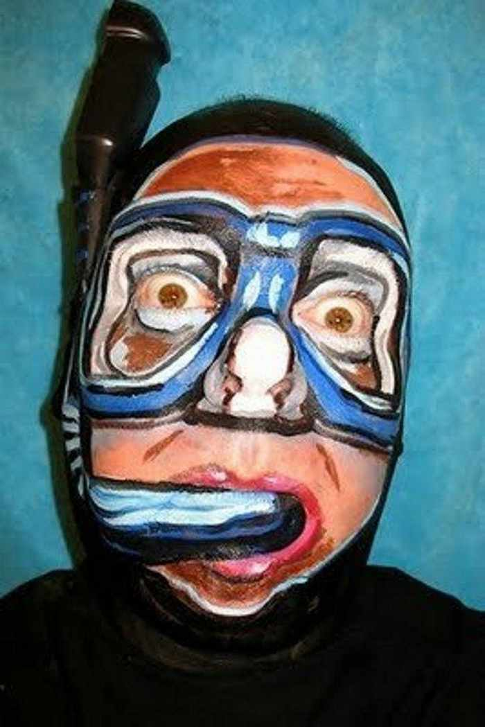 Funny Creative Face Painting Pictures Part - 3 -24