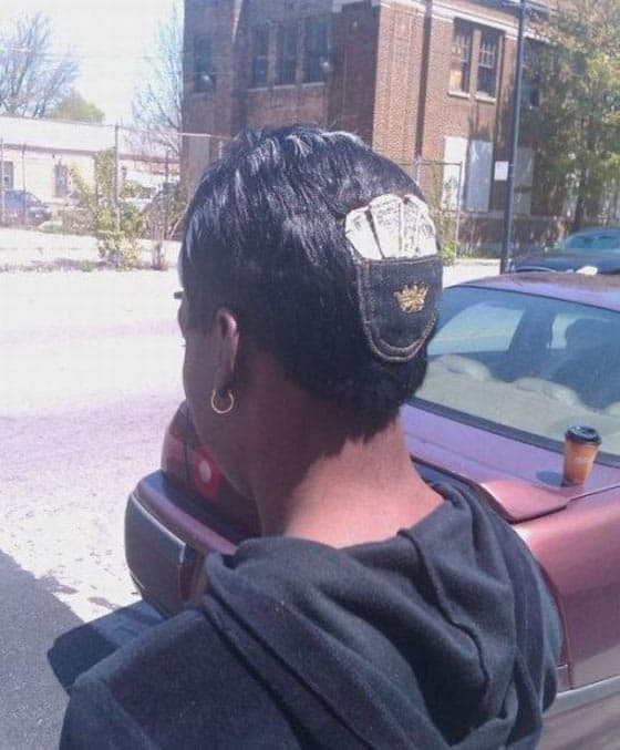 Crazy And Funny Pocket Hair Style That Will Blow Your Mind