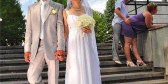 Funny Fail Wedding Photo Captured At Wrong Time Will Shock You