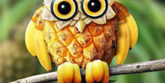 11 Pics of Funny Animals With The Help Of Creative Food Art