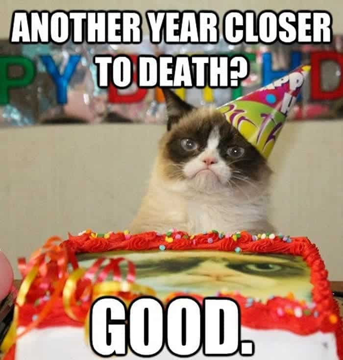 60 Funny Happy Birthday Memes of The Day For Your Loving One -55