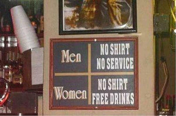 Funny Free Drink Offer for Girls Will Shock You
