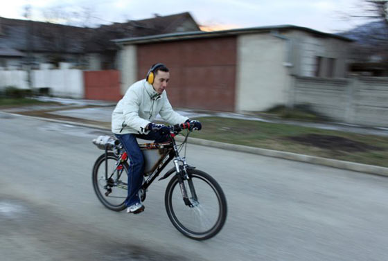 Funny Homemade Bicycle Made From Jet Engine -14