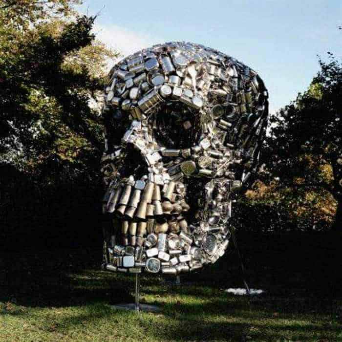 Funny Creative Monument of Skull - 6 Pics -01