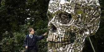 Funny Creative Monument of Skull – 6 Pics