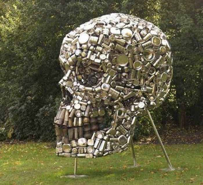 Funny Creative Monument of Skull - 6 Pics -03