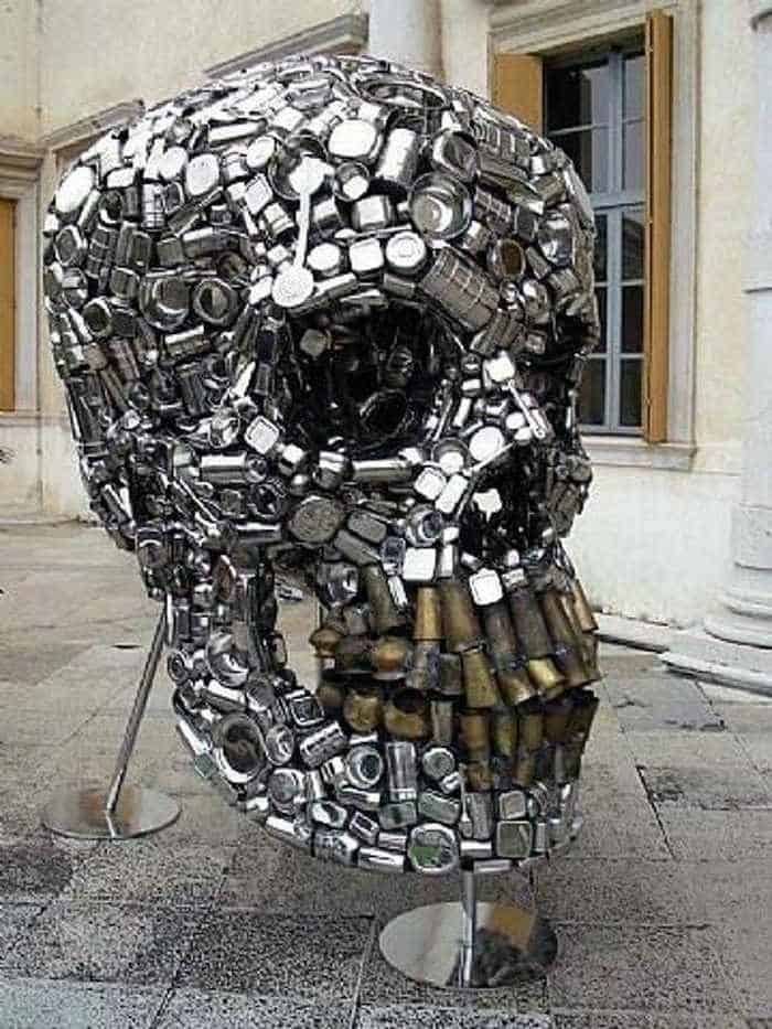 Funny Creative Monument of Skull - 6 Pics -05