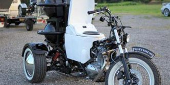 Unusual Motorcycle Seat That is Hilarious