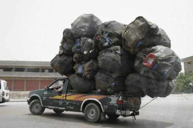 Funny Overloaded Car That You Only See in Least Developed Countries