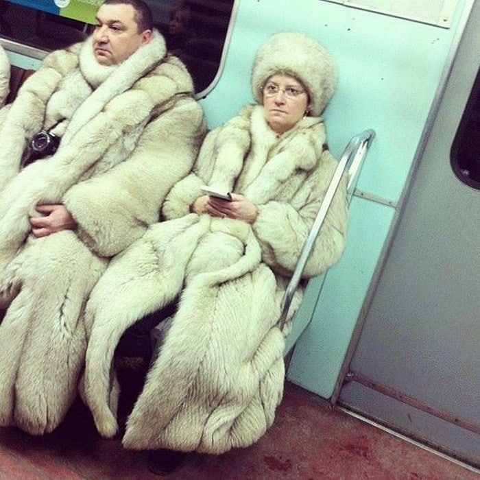 Funny People Of Moscow Subway That Will Make You LOL (64 Pics)-18