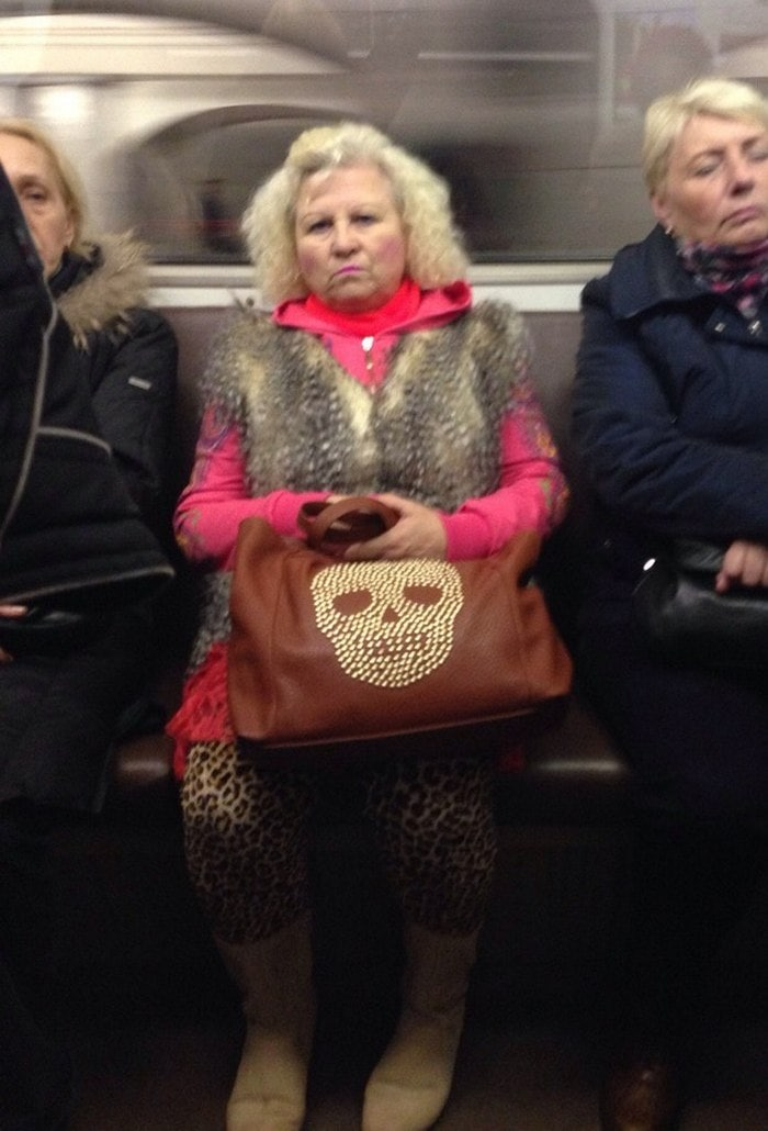Funny People Of Moscow Subway That Will Make You LOL (64 Pics)-23