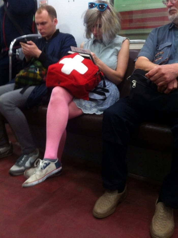 Funny People Of Moscow Subway That Will Make You LOL (64 Pics)-38