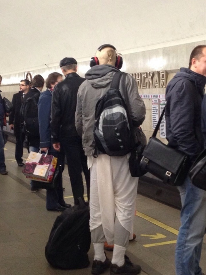 Funny People Of Moscow Subway That Will Make You LOL (64 Pics)-50