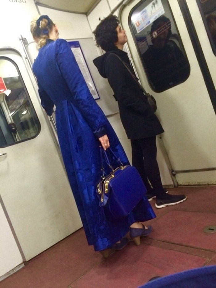 Funny People Of Moscow Subway That Will Make You LOL (64 Pics)-51