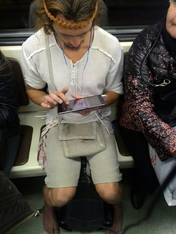 Funny People Of Moscow Subway That Will Make You LOL (64 Pics)-54