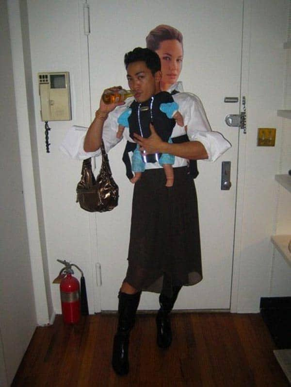 Funny Angelina Jolie Costume That You Like to Try