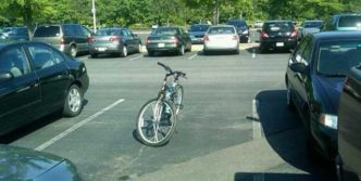Funny Picture Of Fail Bike Parking