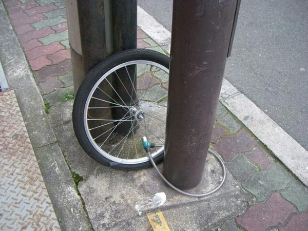Bike Thief Is Smarter Than Owner - Shocking Picture of the Day