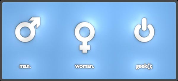 Are You Man, Woman or Geek? 1